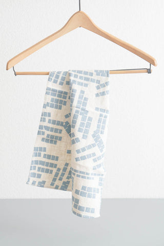 Tea Towel - Tiles in Blue