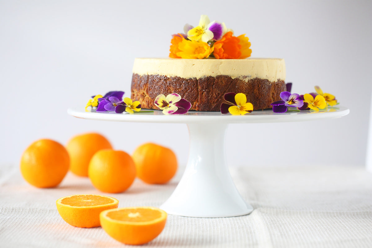 Orange, Almond & Coconut Cake