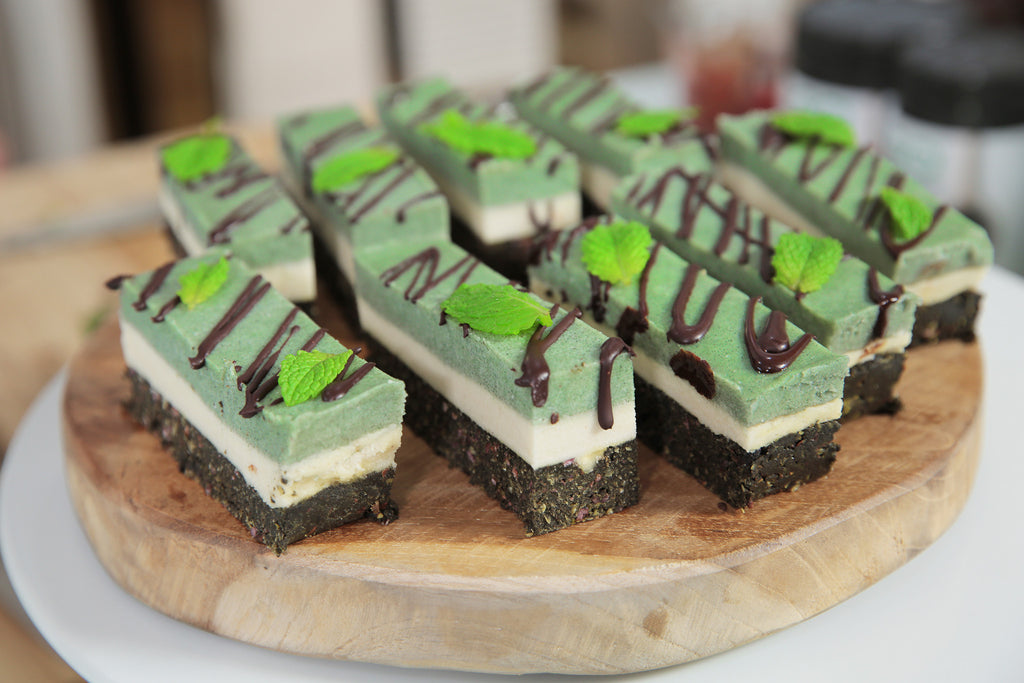 Chocolate Mint Slice