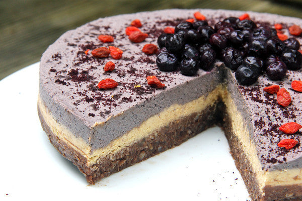 Raw Summer Superfood Cake