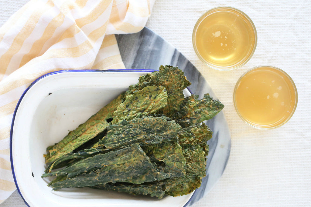 Smoky BBQ Kale Chips