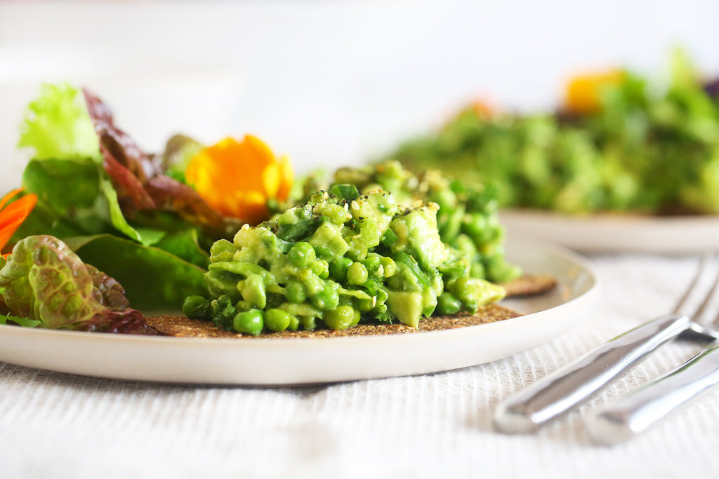 Avocado and Pea Smash