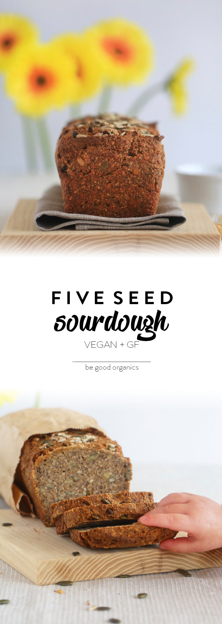 Five Seed Sourdough - Be Good Organics