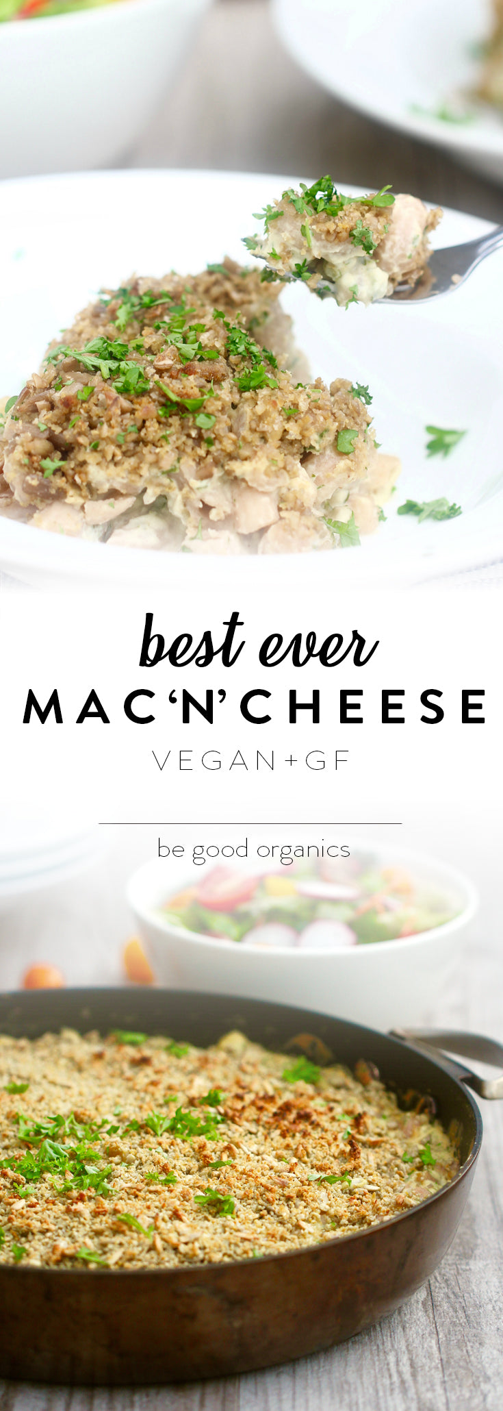 Best Ever Macaroni Cheese - Be Good Organics