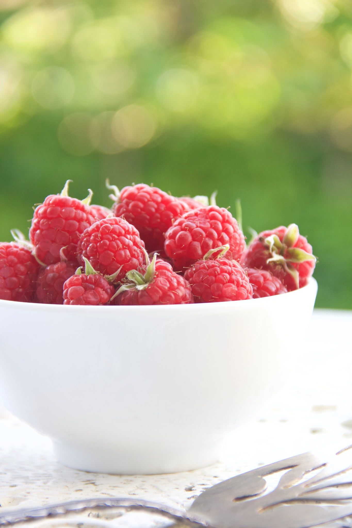 Organic Fresh Raspberries