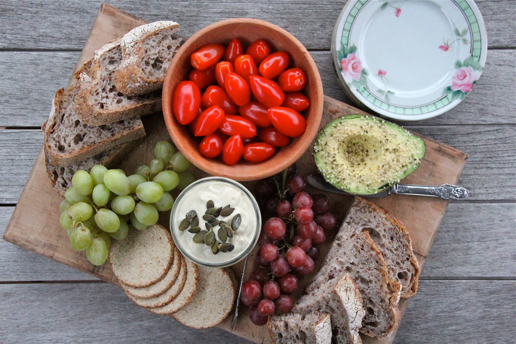 Creamy Raw Cashew Nut Cheese #healthy #vegan #recipe #dairyfree #sugarfree #glutenfree #begoodorganics #platter