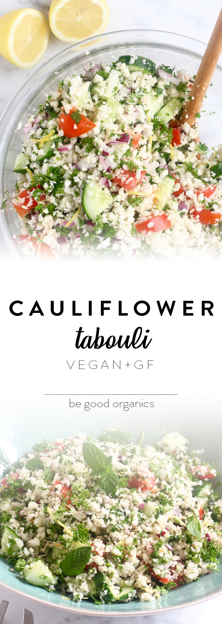 Cauliflower Tabouli - Be Good Organics