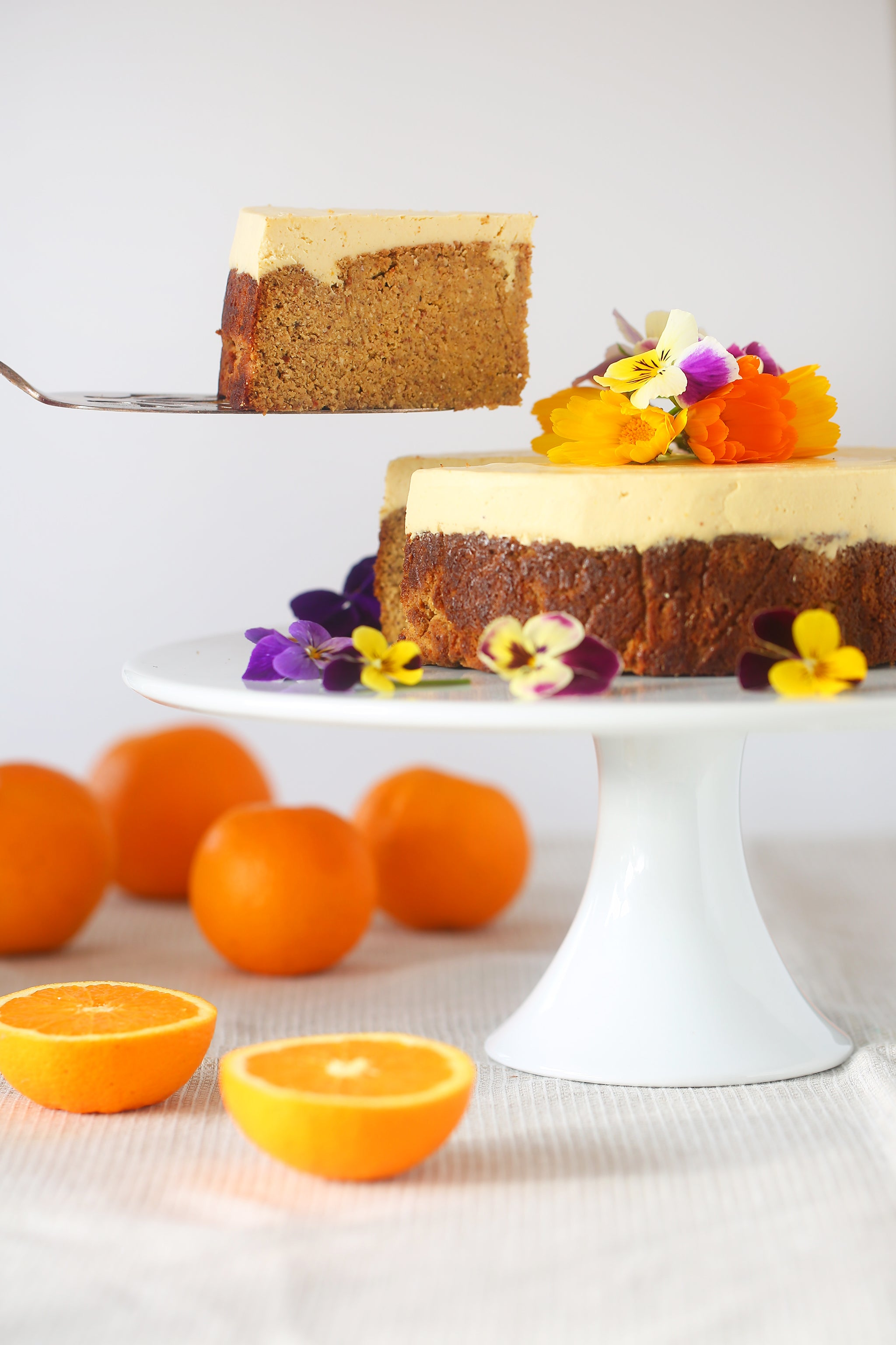 orange almond u0026 coconut cake be good organics