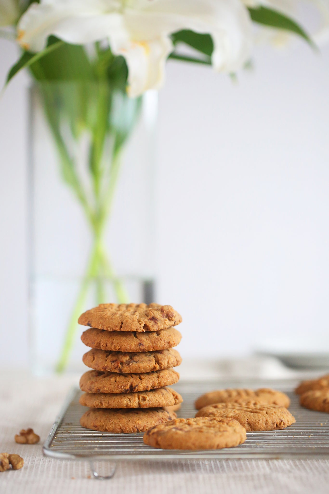Glorious WALNUT AND CHOCOLATE CHUNK COOKIES - healthy, vegan, dairy free, low sugar, no refined sugar, wheat free, egg free, one bowl, begoodorganics Glorious WALNUT AND CHOCOLATE CHUNK COOKIES - healthy, vegan, dairy free, low sugar, no refined sugar, wheat free, egg free, one bowl, begoodorganics