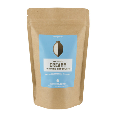 Loving Earth - Creamy Drinking Chocolate - 250g