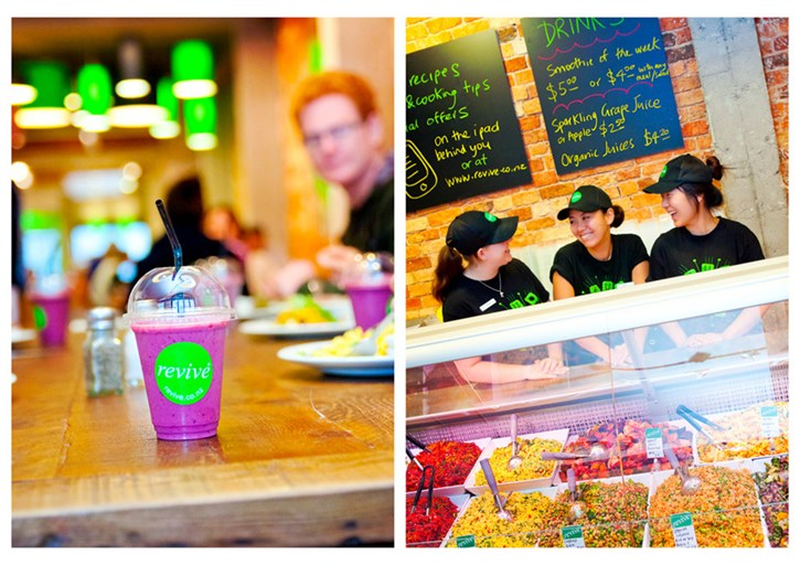 Revive Cafe - Auckland, Jeremy Dixon, vegetarian, dairy free, gluten free, egg free, vegan, healthy