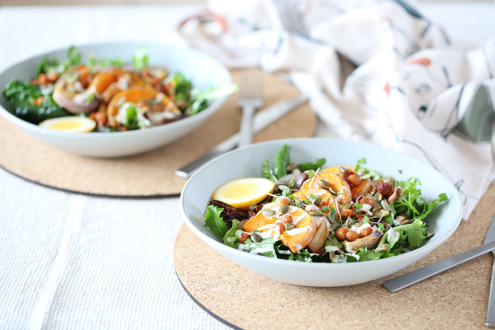 Spiced Pumpkin and Chickpea Salad