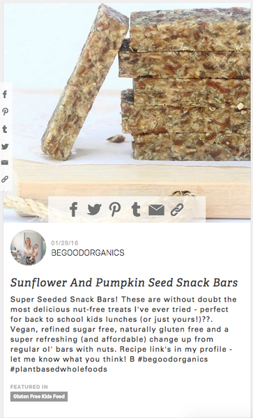 Super Seeded Snack Bars