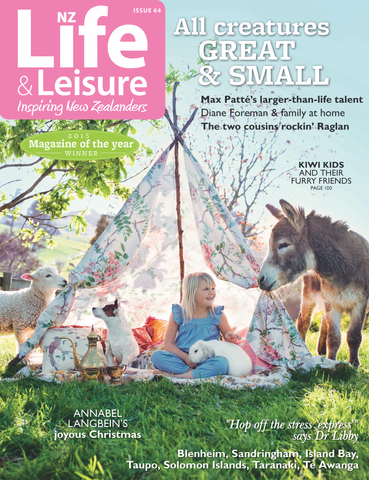 NZ Life and Leisure Magazine Cover - November 15