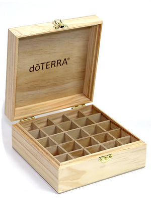doTERRA wooden storage box