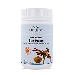Biobalance New Zealand Certified Organic Bee Pollen 250g