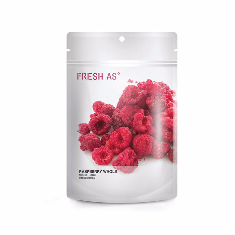 Fresh As NZ Grown and Produced Freeze Dried Raspberries 35g