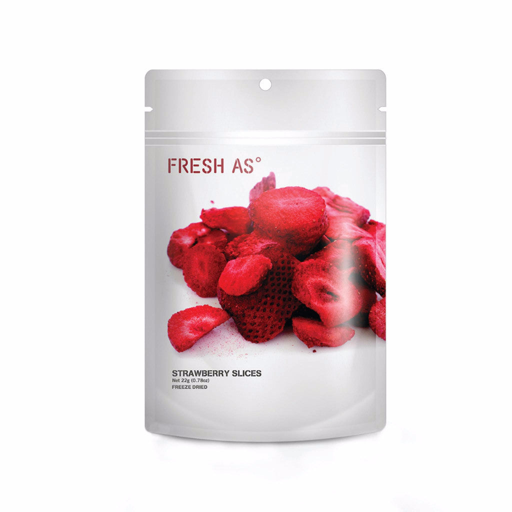 Fresh As NZ Grown and Produced Freeze Dried Strawberries 22g
