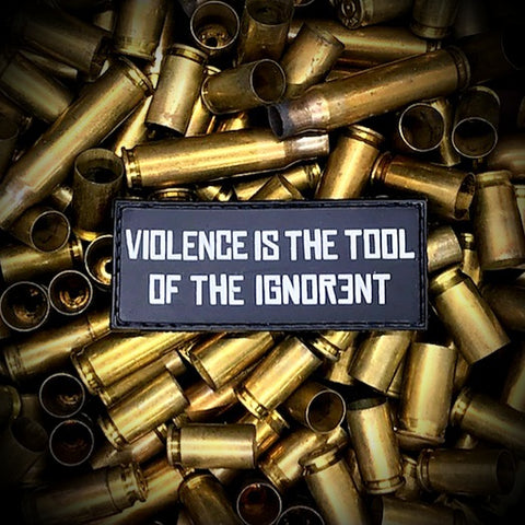 Violence is the Tool PVC Patch