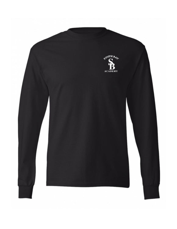 Police Academy Long Sleeve T-Shirt Black