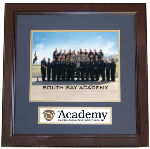 Class Photo with Academy Logo Frame
