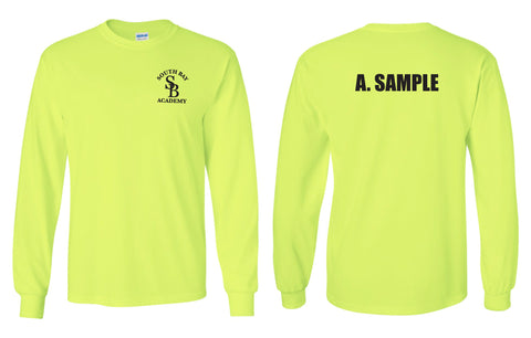 Police Academy Long Sleeve T-Shirt Safety Yellow (MPC Only)
