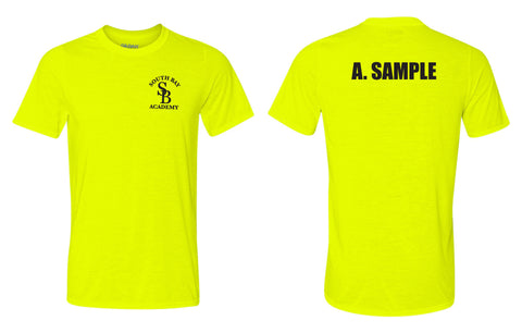 Police Academy Short Sleeve T-Shirt Safety Yellow (MPC Only)
