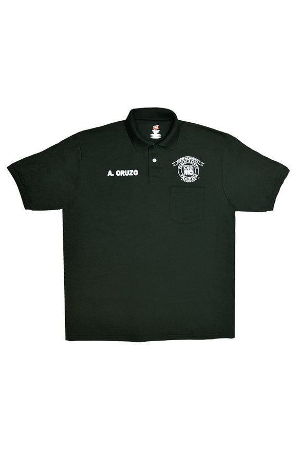 Basic Requalification Polo Shirt, Dark Green