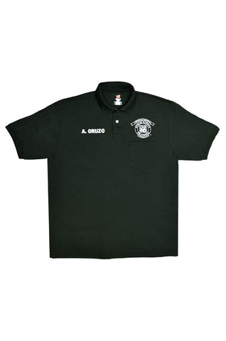 Basic Requalification Academy Polo Shirt, Dark Green