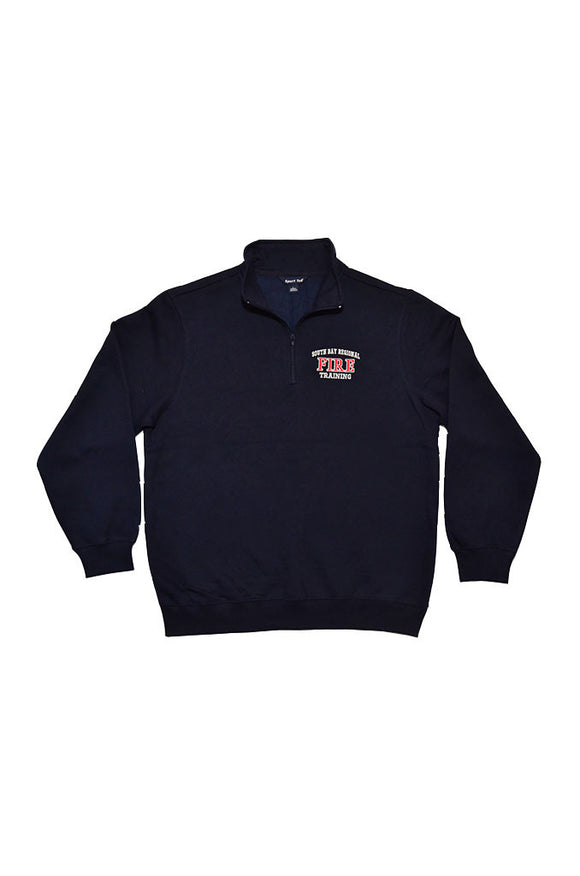 Fire Academy Instructor Fleece 1/4 Zip Pullover Dark Navy