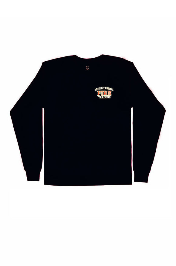 Fire Academy Instructor Long Sleeve T-Shirt Dark Navy