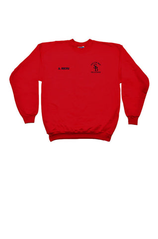 Fire Academy Recruit Sweatshirt Red