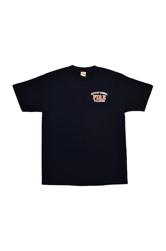 Fire Academy Instructor  Short Sleeve T-Shirt Dark Navy