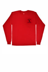 Fire Academy Recruit Long Sleeve T-Shirt Red
