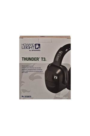 Howard Leight Thunder T3 Dielectric Headband Earmuff
