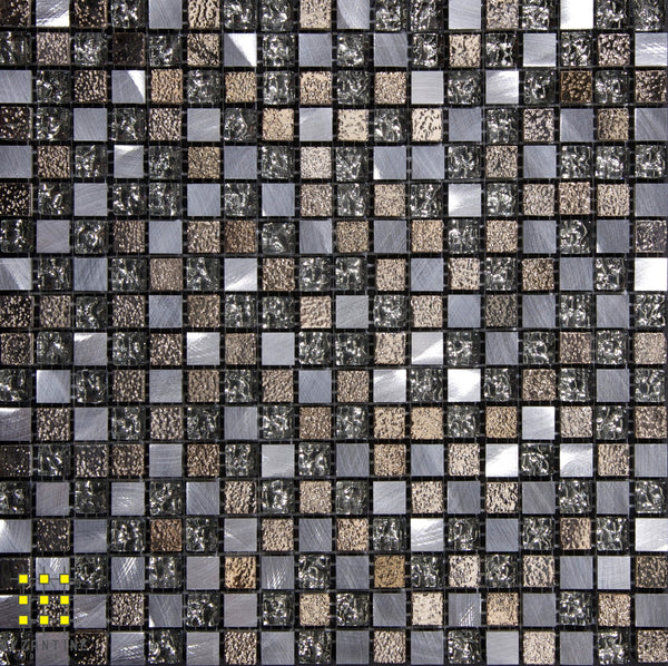 Heavy Metal square mosaic