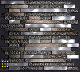 Heavy Metal strip mosaic