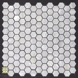 Mother of Pearl Bianca hexagon mosaic