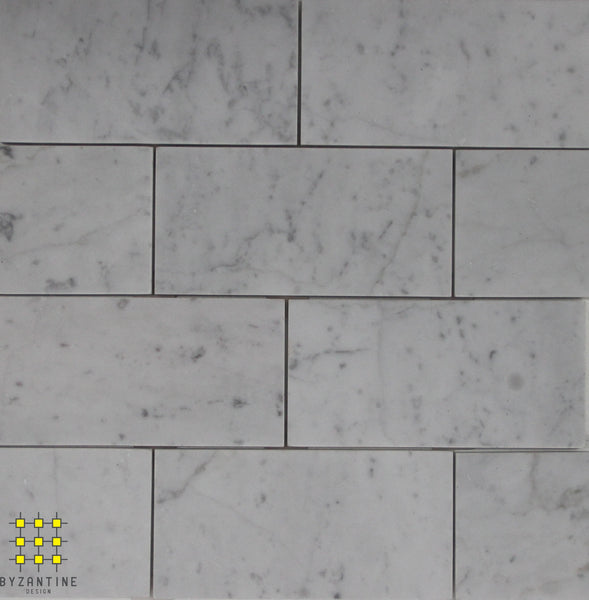 Carrara Subway Tile 150x75