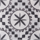 BONNIE AND NEIL CUBAN BLACK GLAZED PORCELAIN TILE
