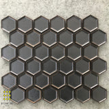 FORMALE BRONZE HEXAGON MOSAIC