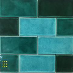 Tavella Aqua Crackle Gloss Subway tiles