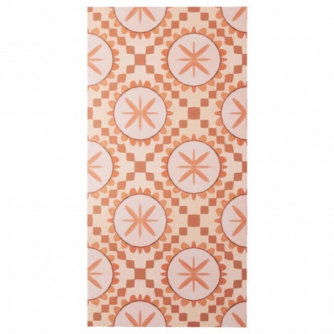 BONNIE AND NEIL CUBAN TERRACOTTA VINYL RUG