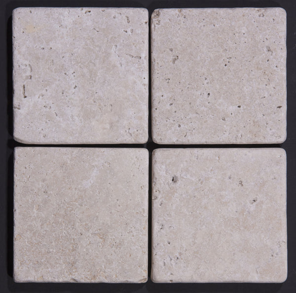 Travertine Classico tumbled tiles or paver