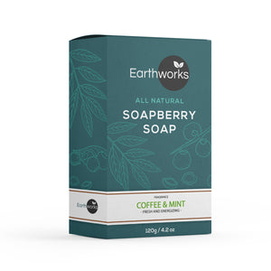 Soapberry Bar Soap - Coffee & Mint (4386013544512)