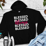 Always Blessed Black Hoodie