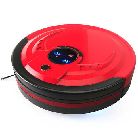 bObsweep Robot Vacuum and Mop, Rouge