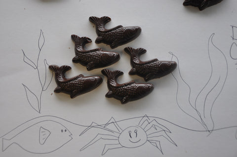 Dark Chocolate Fish