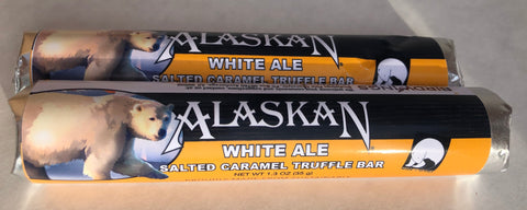 Alaskan Brewing White Ale Salted Caramel Truffle Bar
