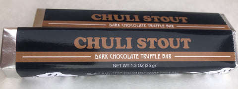 Denali Brewing Chuli Stout Dark Chocolate Truffle Bar